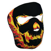 Мото маска Blackout Skull Neoprene Face Mask