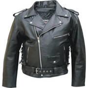 Кожаная мотокуртка Biker Leather Apparel