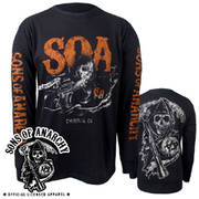 Футболка Sons of Anarchy Charging Reaper