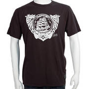 Mens Rocked Flash Tee Black