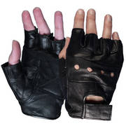 Мотоперчатки Hot Leathers Fingerless Leather Gloves