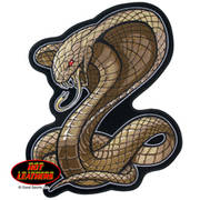 Cobra Snake Embroidered Patch