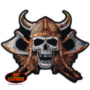 Нашивка Viking Skull Embroidered Patch