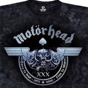Футболка с эмблеммой рок группы Motorhead и коротким рукавом Iron Horse
