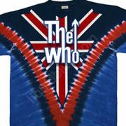 Футболка с эмблеммой рок группы The Who и коротким рукавом Long Live Rock