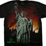 Футболка с зомби Zombie Liberty