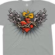 Этническая футболка Sacred Heart
