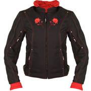 Текстильная мотокуртка Women's Reflective Rose Black-Red