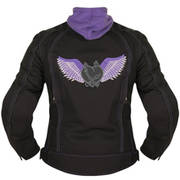 Women's Tribal Heart Black-Purple