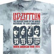 Футболка с рок-группой Zeppelin La 1975