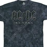Футболка с логотипом рок группы и коротким рукавом Back In Black