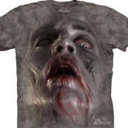 Футболка с зомби Zombie Face