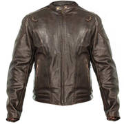 Кожаная мотокуртка Retro Brown Premium Speedster Jacket