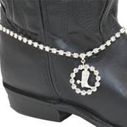 Сбруя на Сапоги Rhinestone Boot Bracelet