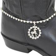 Сбруя на Сапоги Boot Bracelet Horse Charm