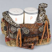 Saddle Salt & Pepper Holder
