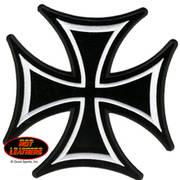 Нашивка Patch Iron Cross Skinny