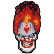 Нашивка Tall Clown Skull Patch