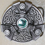 V-Twin Celtic Buckle