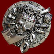 Dead King Small Silver