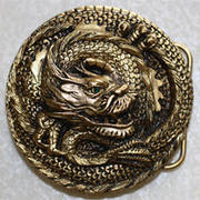 Dragon Wrap Buckle Gold