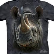 Футболка с изображением животных Black Rhino