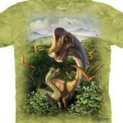 Футболка с изображением  динозавров Ultrasaurus