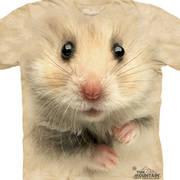 Футболка с изображением грызуна Hamster Face