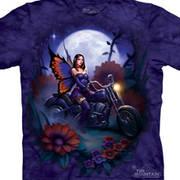 Футболка для байкеров Fairy Biker