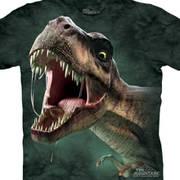 Футболка с изображением  динозавров и коротким рукавом T-Rex Roar