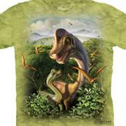 Футболка с изображением  динозавров и коротким рукавом Детская Ultrasaurus