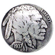 Indian Head Coin Concho