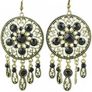 Серьги Dream Catcher Earrings Black