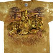 Футболка со львом Lion Family
