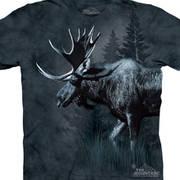 Футболка с оленем/лосём Moose