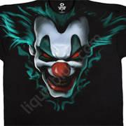 Футболка с изображением клоунов Freak Show