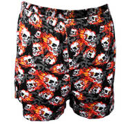 Штаны Mirror Skulls Boxer Shorts