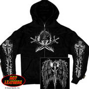 Reaper Wings Hooded Sweatshirt