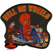 Нашивка Hell On Wheels Patch