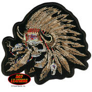 Нашивка Indian Skull Patch