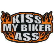 Нашивка Kiss My Biker Ass Patch