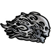 Нашивка Head Butt Tribal Skull Patch