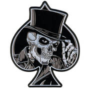 Нашивка Top Hat Skull Patch