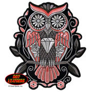 Нашивка Hot Leathers Owl Patch