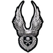 Нашивка Up-wing Eagle and Skull Patch-TM