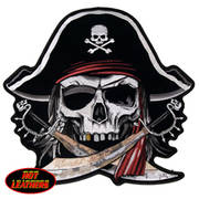 Нашивка Pirate Skull Patch