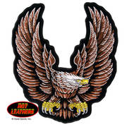 Hot Leathers New Upwing Eagle Patch