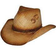 Соломенная шляпа Double Horseshoe