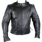 Cowhide Leather Armored Jackets