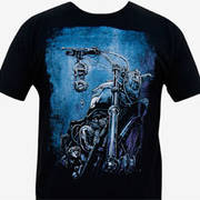 Футболка для байкеров Mens The Sacred Ride Tee